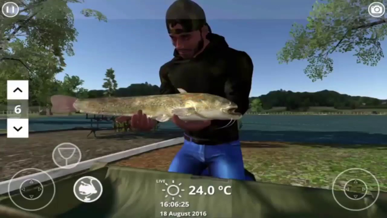 Carp fishing simulator v1 9 7 5 apk obb data full for for Fishing game android
