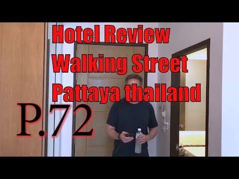 Hotel Review P.72 New Hotel Located on Walking Street in Pattaya, Thailand