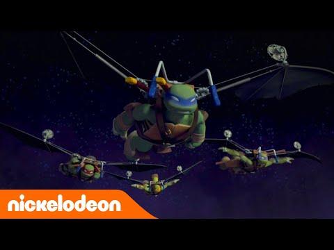 Черепашки ниндзя мультфильм вторжение