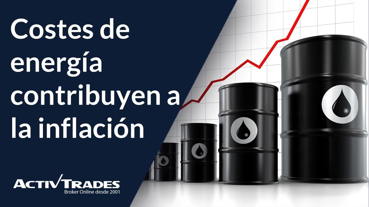 El aumento de costes de energía apoya a la inflación