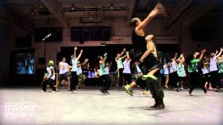 Green Aviators Head-Ice Dance Off | O-Week 2013 | Wilfrid Laurier University | Waterloo Campus