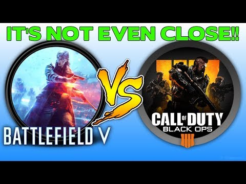 Battlefield V versus Black Ops 4 | It's not even close!
