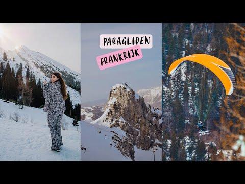Video: Hysterisch tijdens het Paragliden in Frankrijk