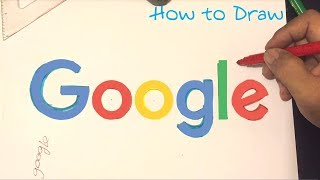 How to draw the Google Logo
