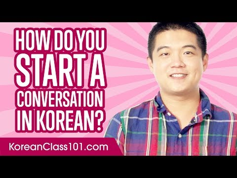 Don't Be Shy! How to Start a Conversation in Korean