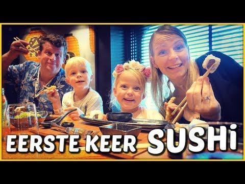 DiT iS HEEL BiJZONDERE SUSHi! 🍱   Bellinga Familie Vloggers #1442