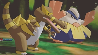 Repeat youtube video Pokemon Sun and Moon Wi-Fi Battle: Krookodile Plots Against You! (1080p)