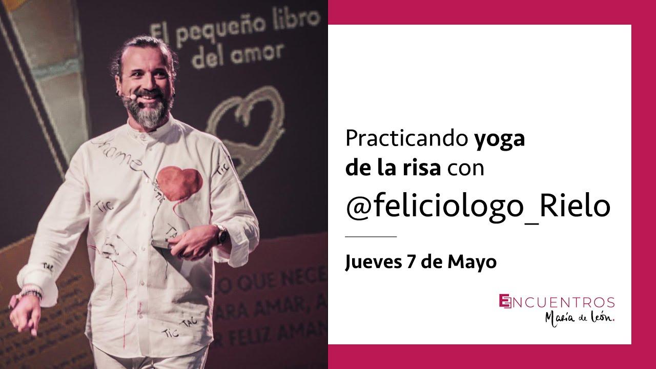 """Practicando el yoga de la risa con """"El Feliciólogo"""""""