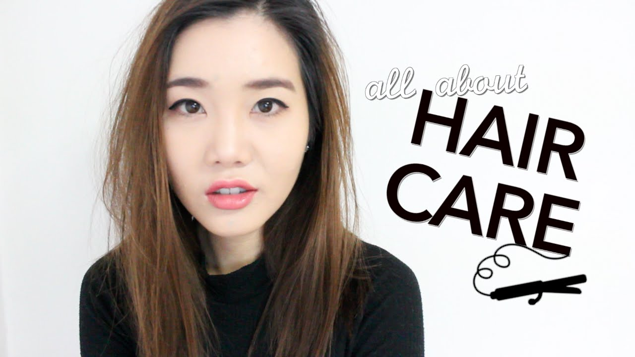 Korean  Hair Care Routine YouTube