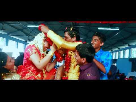 vineesh sreeja wedding highlight
