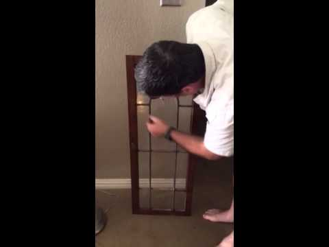 Beheben Glass Austin Texas Curio Cabinet Door Repair
