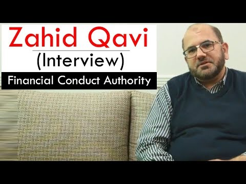 Zahid Qavi (Interview) | FCA: Financial Conduct Authority