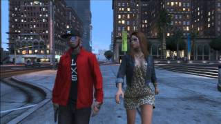 50 Cent - Window Shopper  GTA V