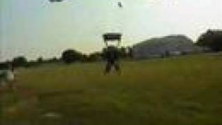 Perfect landing - AFF 1 Skydive