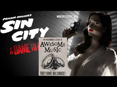 Sin City A Dame to Kill For Comic Con   Red Band Trailer Music Icky Blossoms   Babes