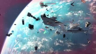 STAR WARS™ Battlefront™ Scarif Space Battle Gameplay