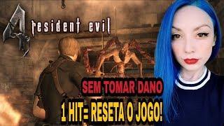 🔴1 HIT RESETA O JOGO - RESIDENT EVIL 4 NO PROFISSIONAL (PS4)