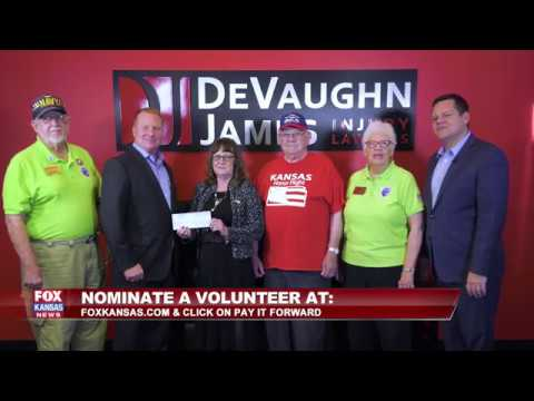 DeVaughn James & Fox Kansas - Pay It Forward - Karen Hasting