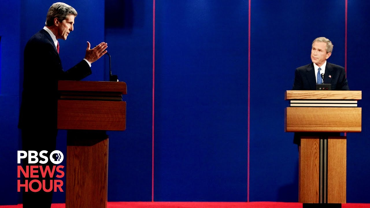 Bush Vs Kerry The First 2004 Presidential Debate Youtube