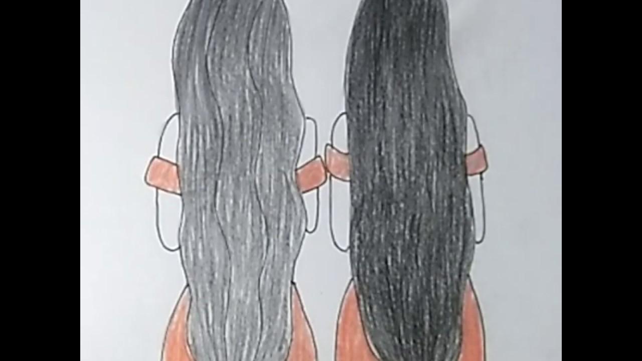 رسم سهل رسم افضل صديقات خطوة بخطوة Best Friends رسم بنات اخوات بقلم الرصاص والالوان الخشبية Bff Youtube
