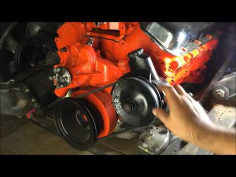 70 chevelle big block 454 pulleys and brackets - YouTubeYouTube