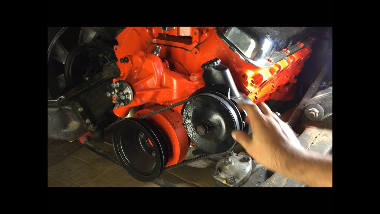70 chevelle big block 454 pulleys and brackets  YouTube