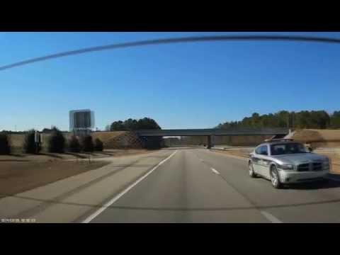 "North Carolina State Highway Patrol ""SHP-1182"" Speeding !"