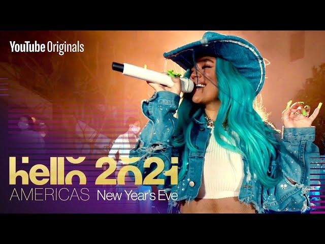 Karol G New Year's Eve Performance | Hello 2021: Americas