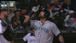 SEA@CWS: Gutierrez goes opposite way for two-run shot