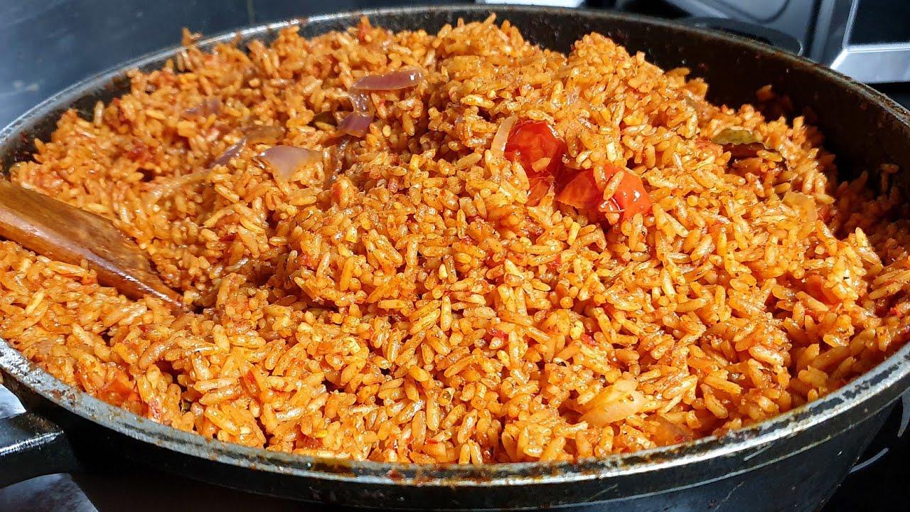 Party Jollof Rice (Nigerian) - Sisi Jemimah