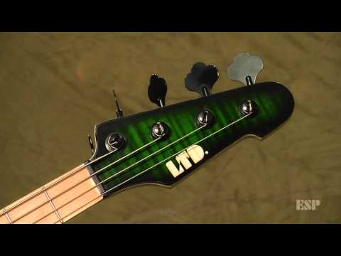 ESP Guitars: Marco Mendoza LTD MM-4FM Bass