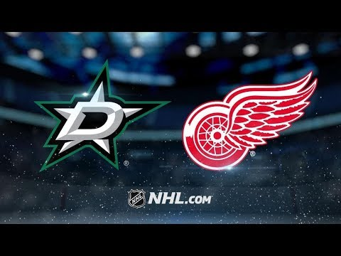 Dallas Stars vs Detroit Red Wings | Oct.28, 2018 | Game Highlights | NHL 2018/19 | Обзор Матча