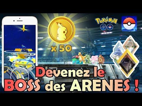 Tuto Arènes de folie !! Badges, Poképièces, Attaque & Défense, ect... - Pokémon GO