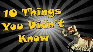 10 Things you didn't kฑow about Skeleton Horses