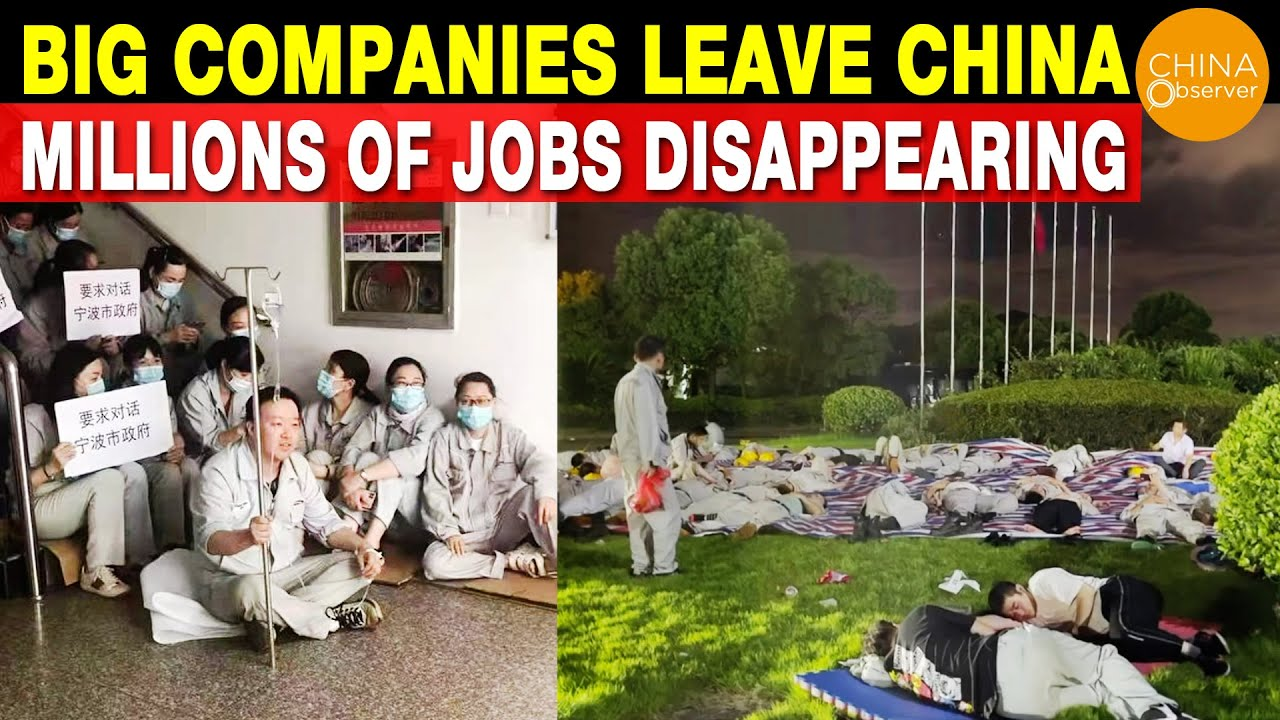 Download Big Multinational Companies Leave China, Millions of Jobs Disappearing