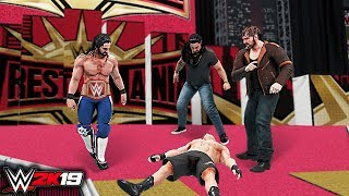 WWE 2K19 Custom Story - THE REUNION OF THE SHIELD At Wrestlemania 35 ft. Lesnar, Reigns