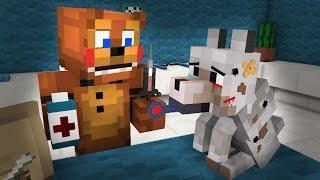 FNAF  Monster School: Veterinary Dog Rescue! Operation - Minecraft Animation
