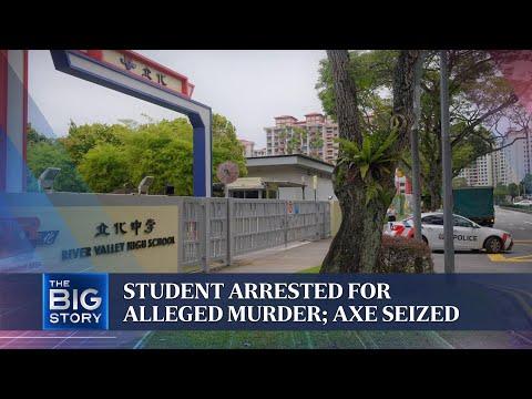 River Valley High School death: Sec 4 boy arrested over alleged killing of Sec 1 boy | THE BIG STORY