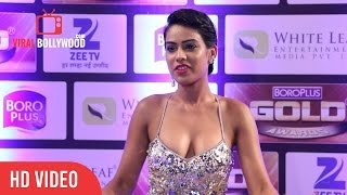 HOT Nia Sharma At Zee Gold Awards 2016 | Viralbollywood.com