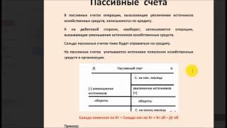 6. Активные, Пассивные и А/П счета.