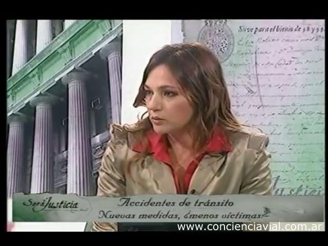 2012 - Será Justicia - Dell' Olio y Selser sobre multas a quienes pasen semáforos en rojo en CABA