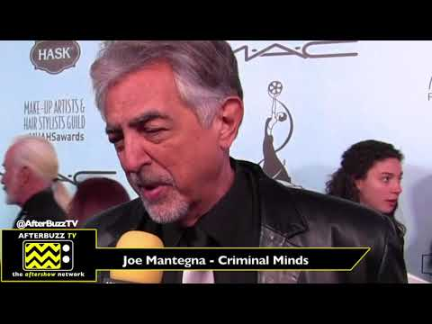 Joe Mantegna talks Criminal Minds at the MUAH Guild Awards