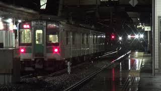東北本線 新白河駅 ダイヤ改正直前 黒磯行最終列車 4154M入線 2019.03.15
