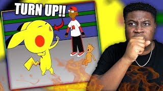PIKACHU CHARGES UP! |  Pikachu Vs Groot - Cartoon Beatbox Battle Reaction!