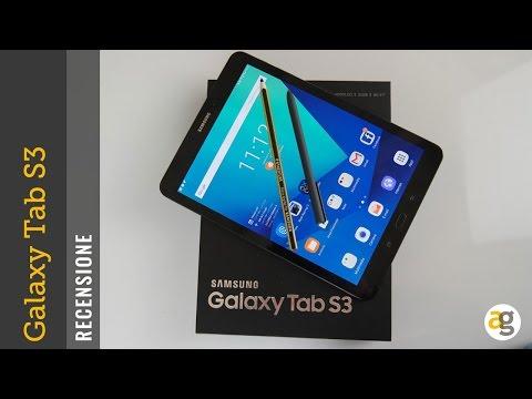 RECENSIONE Samsung Galaxy TAB S3