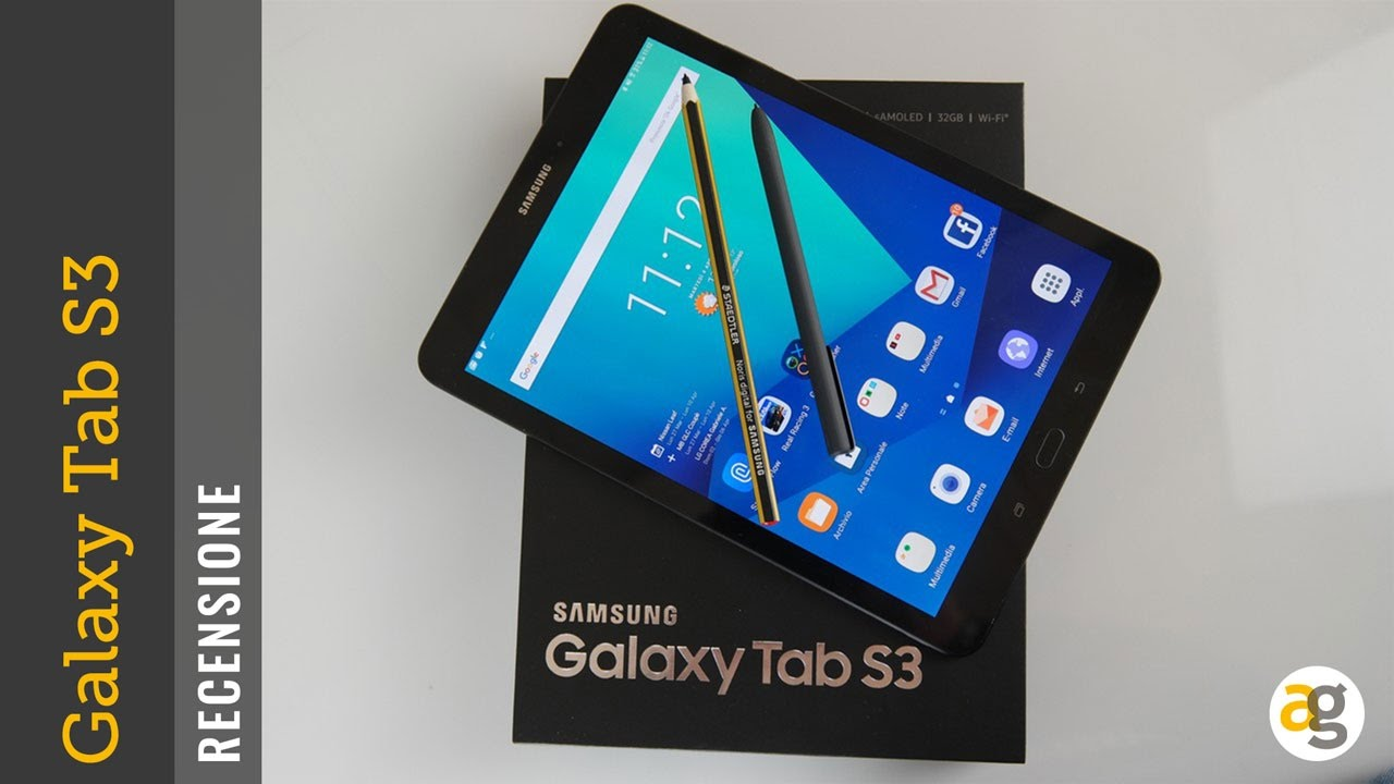 RECENSIONE Samsung Galaxy TAB S3 - YouTube