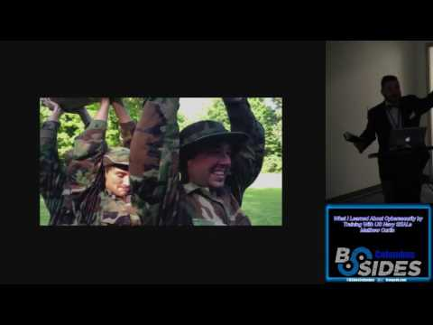 BSides Columbus01 What I Learned About Cybersecurity by Training With US Navy SEALs Matthew Curtin