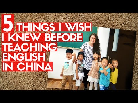 5 TIPS FOR TEACHING ENGLISH IN CHINA