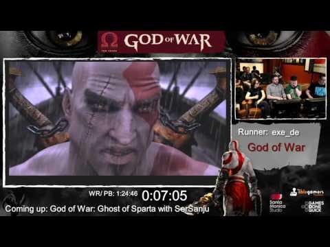 God of War Done Quick! God of War Speedrun Marathon! (part 2) - GoW 1