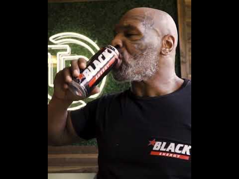 Mike Tyson Black Energy Cyprus